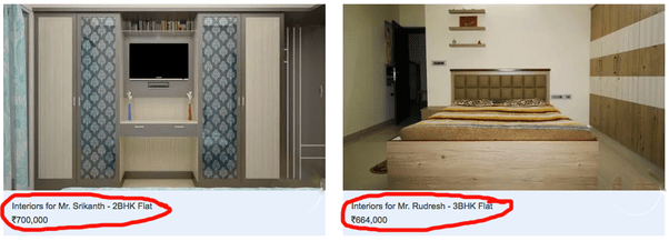 What Is The Cost Of An Interior Designer In Bangalore? Specifically