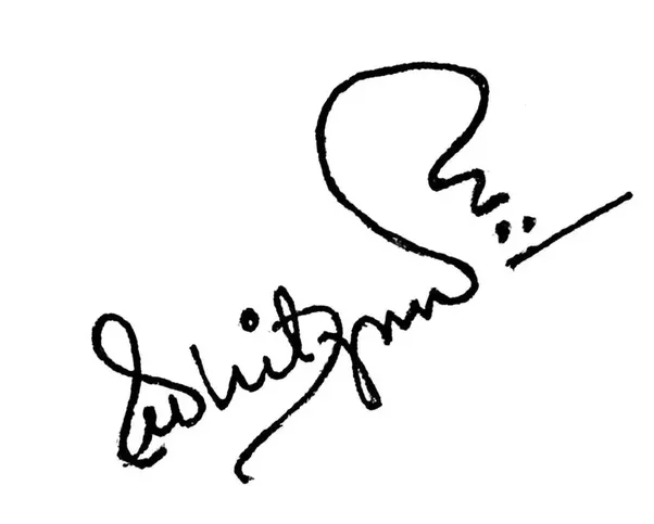 What are some good examples of unique personal signatures