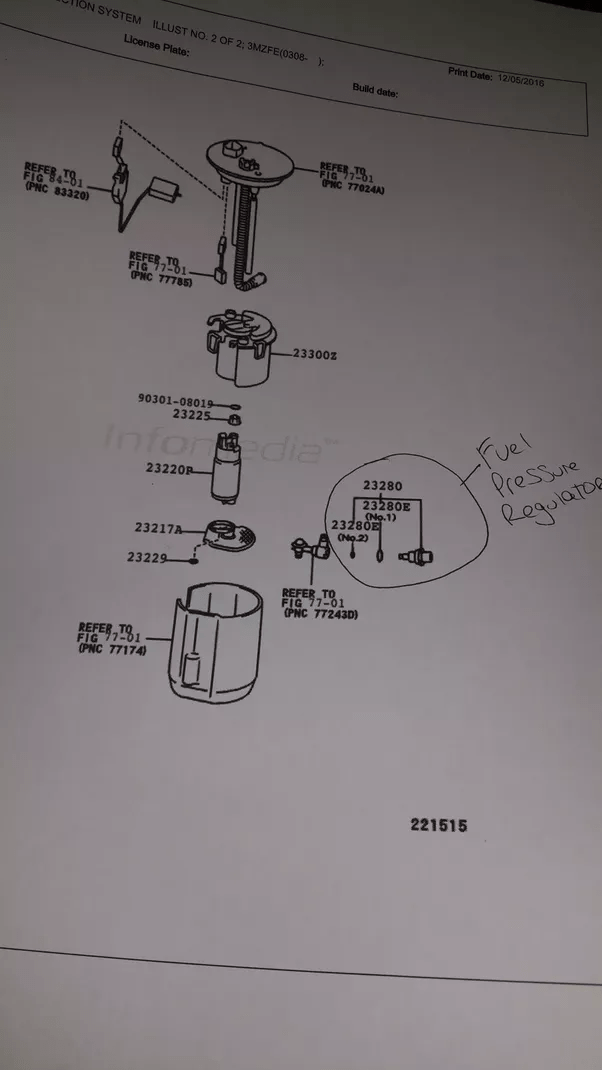 Dodge Stratus Fuel Tank Components Assembly And Parts Diagram The Fuel
