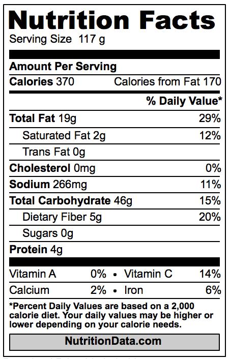Mcdonalds Fries Nutrition Facts – Blog Dandk