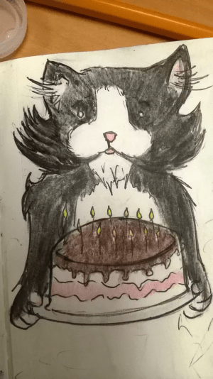 draw things easy doodle creative them desserts cats