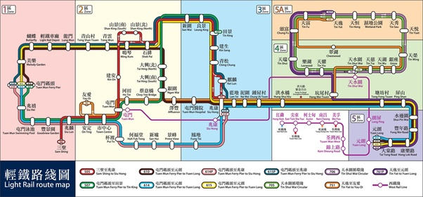 What does a realistic map of the Hong Kong MTR look like? - Quora