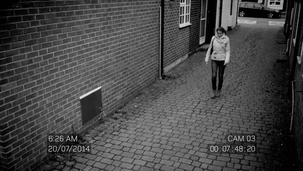 The picture below is the most well known frame. What is CCTV footage? - Quora