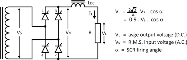 The Output Voltage From The Bridge Rectifier Circuit Shown Below