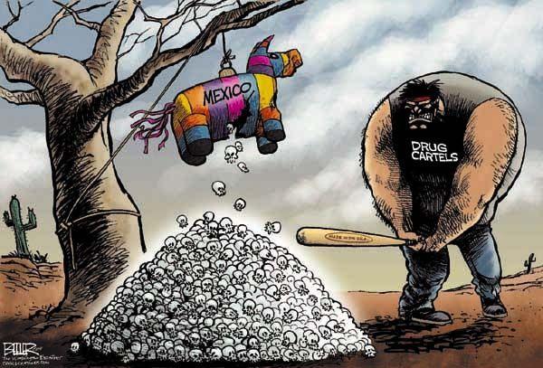 Trafficking Drug Cartoons Political