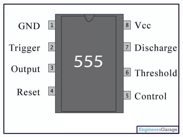 555 Timer Circuits Using 555 Timer Circuit Diagrams Ic 555 Timer