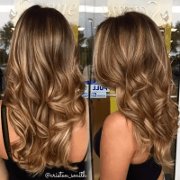 What hair color suits a girl with a warm skin tone and ...