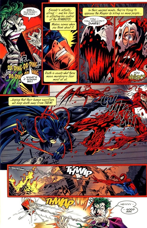 Carnage Vs Joker : carnage, joker, Would, Fight, Between, Carnage, Batman?, Quora