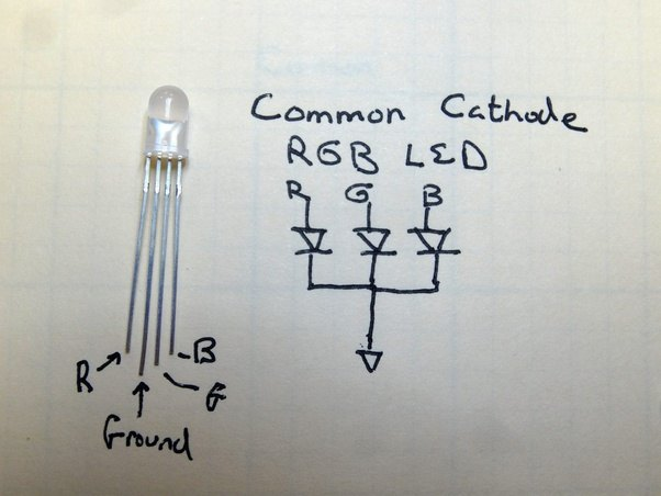 Led Emergency Light Circuit In Addition Rgb Led Circuit Diagram