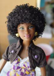 dye barbie hair