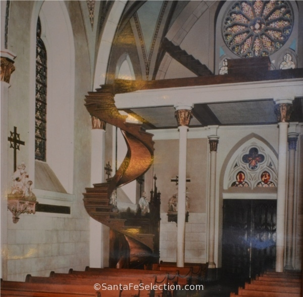 What Is The Mystery Behind The Loretto Chapel Staircase Quora | Spiral Staircase Loretto Chapel | St Joseph | Immaculate | Gothic | Dangerous | Medieval