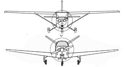What are the pros and cons of low wing aircraft as opposed