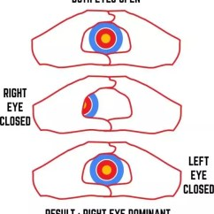 Diagram Of The Left Eye Rj45 Wiring Socket What Does It Mean If My Right Is Dominant Quora When We Track People Often Want To Know Which Because Prefer Other Slight Off Target