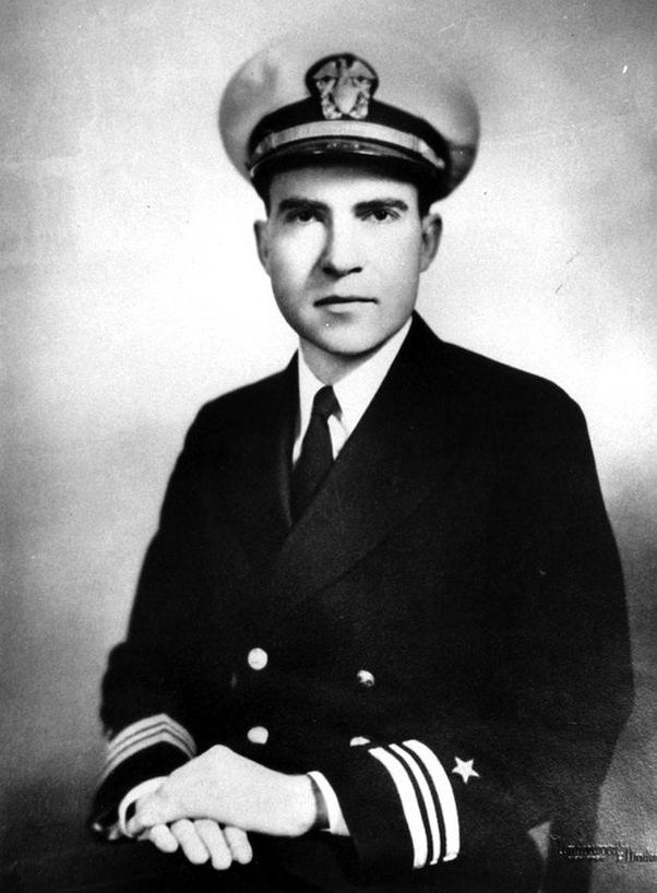What did Richard Nixon do during WWII  Quora