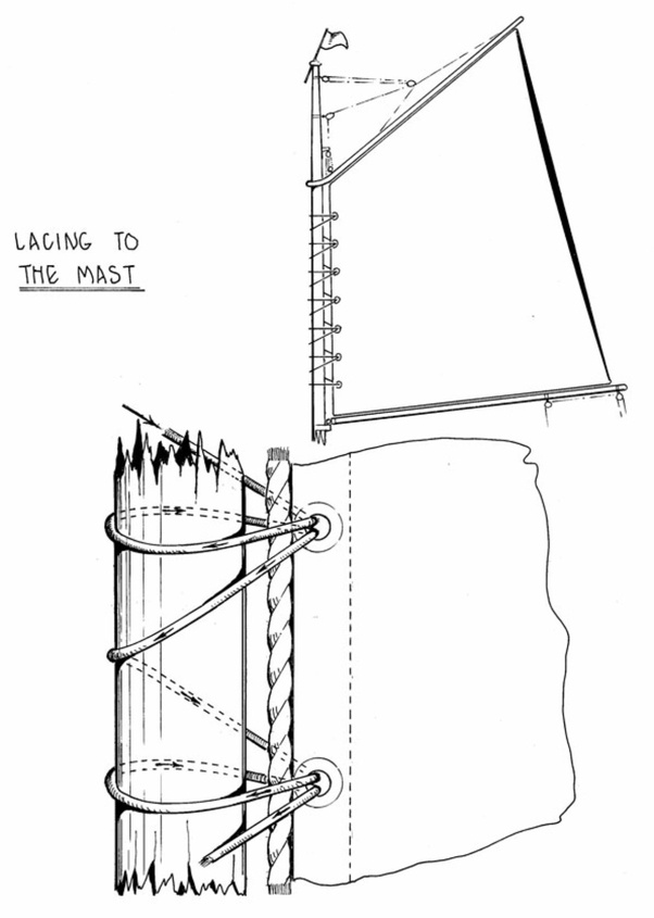 In the series Frontier a double topsail schooner is shown