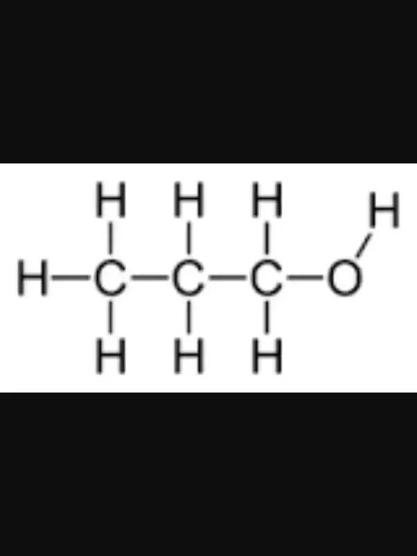 1 Propanol Lewis Structure : propanol, lewis, structure, Propanol, Classified, Polar, Non-polar?, Quora