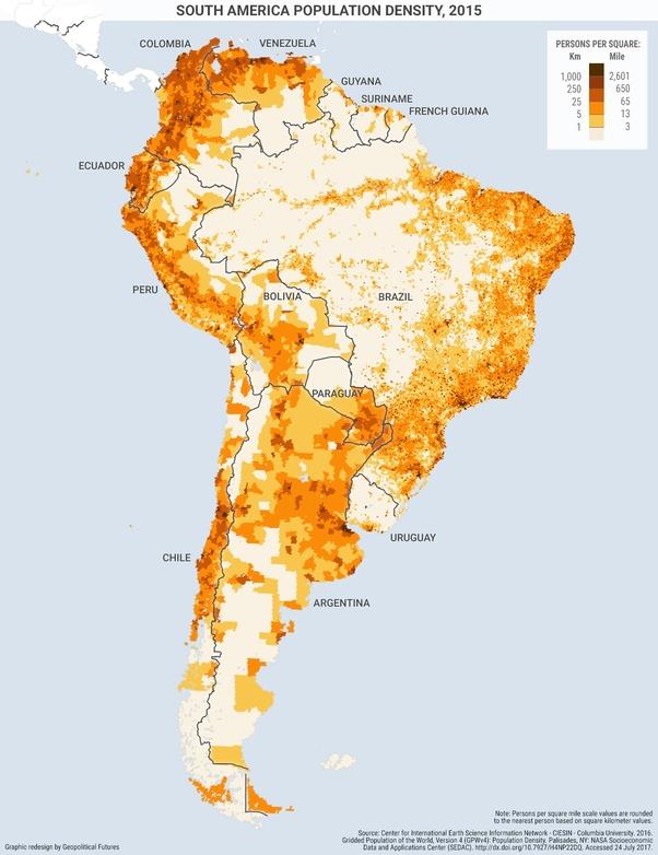 Carte Des Pays Hispanophones Dans Le Monde : carte, hispanophones, monde, Effet, Fait-il, Brésiliens, D'être, Entourés, Hispanophones, Quora
