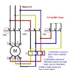 3 Phase Star Delta Motor Wiring Diagram Lucas Ignition Barrel What Are The Operating Principles Of Starter Power Connection Below