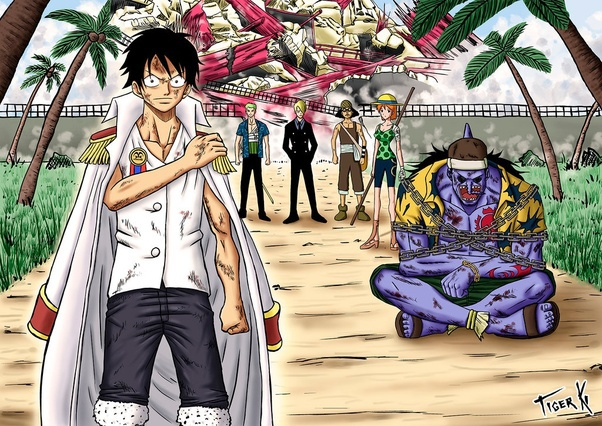 That sengoku was as clever as ever. If Luffy Was A Marine Would He Be A Marine Admiral Quora