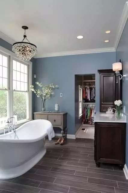 what wall color matches with gray