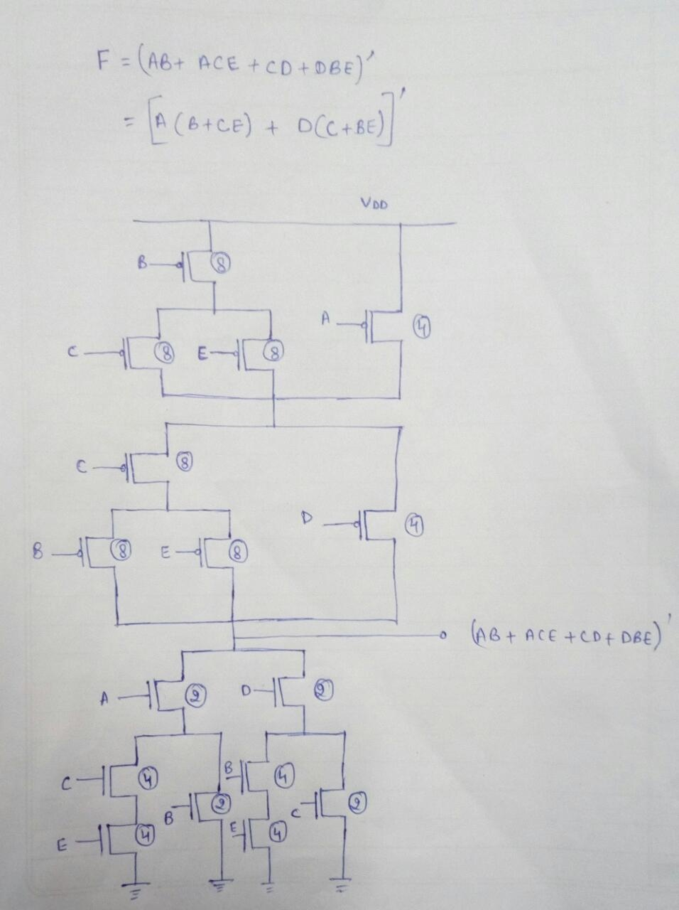 medium resolution of for 16 transistor following circuit can be considered