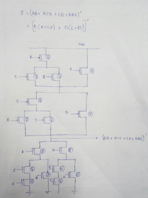 small resolution of for 16 transistor following circuit can be considered