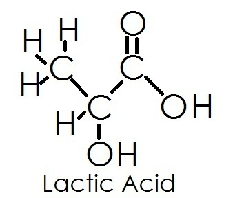 How to relate lactic acids structure to its physical and