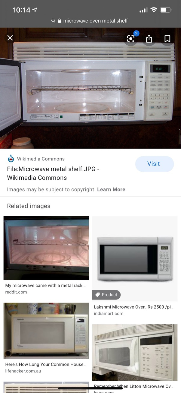 put stainless steel in a microwave