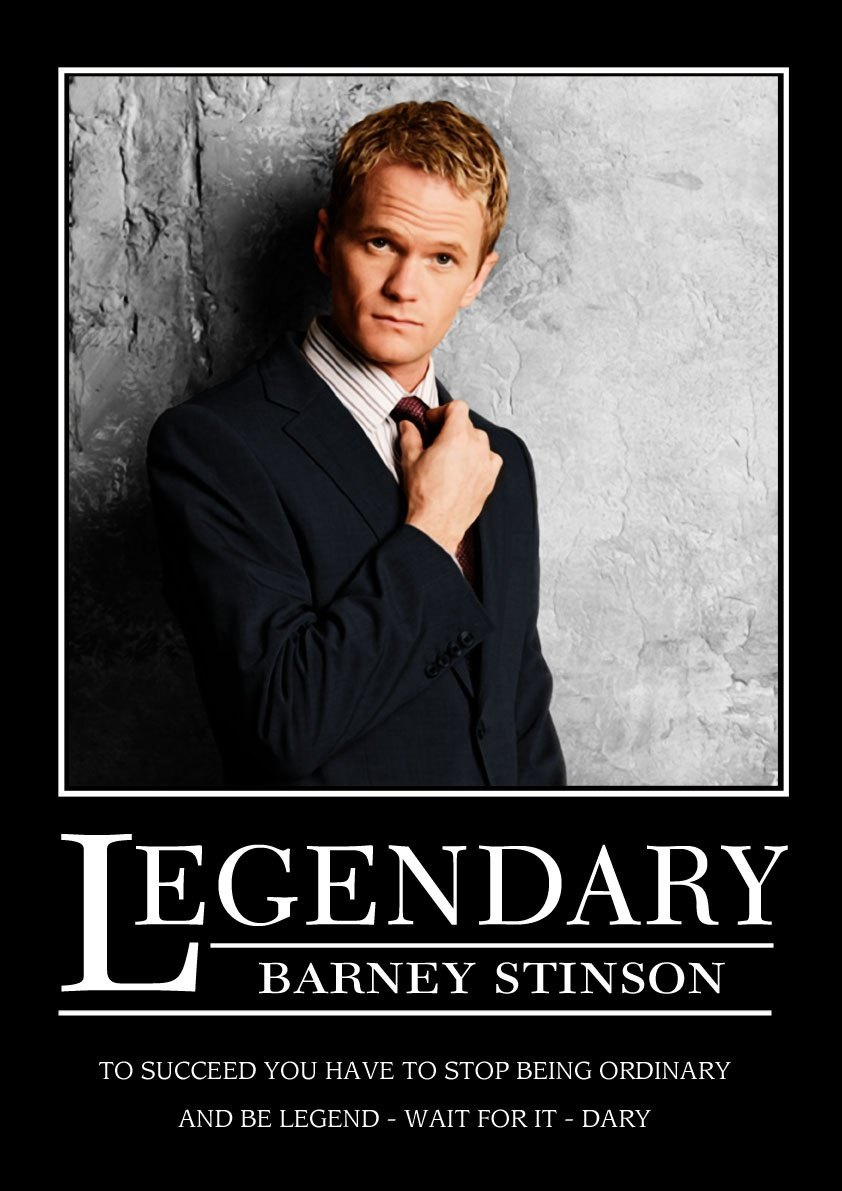Barney Stinson Resume Who Was The Best Actor On How I Met Your Mother Quora