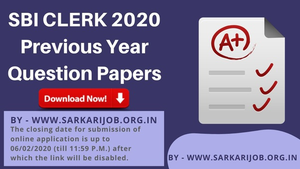 Where I Can Find Ibps Sbi Clerk Po Previous Year Question Paper With Solutions Quora