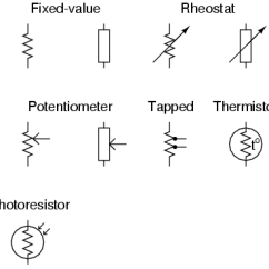 Thermistor Symbol Electrical Diagram 85 Chevy Truck Wiring What Is The Of A Fixed Resistor? - Quora