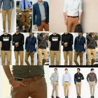 What color shirt will match with brown pants? - Quora