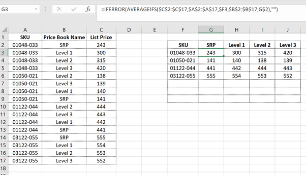 How to transpose a three-way column into rows based on the
