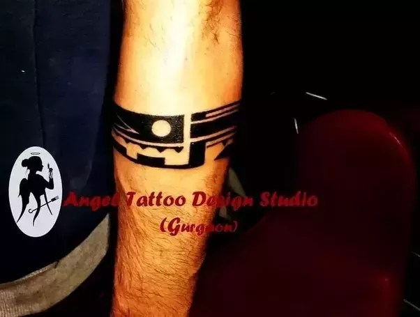 Armband Forearm Band Tattoos For Men