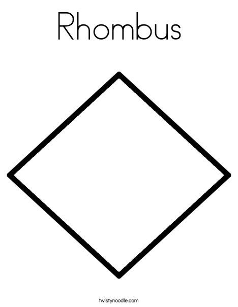 How can a figure be a rectangle, a rhombus and a square