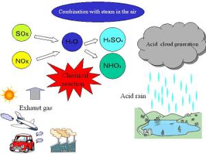 What are the main causes of acid rain?  Quora