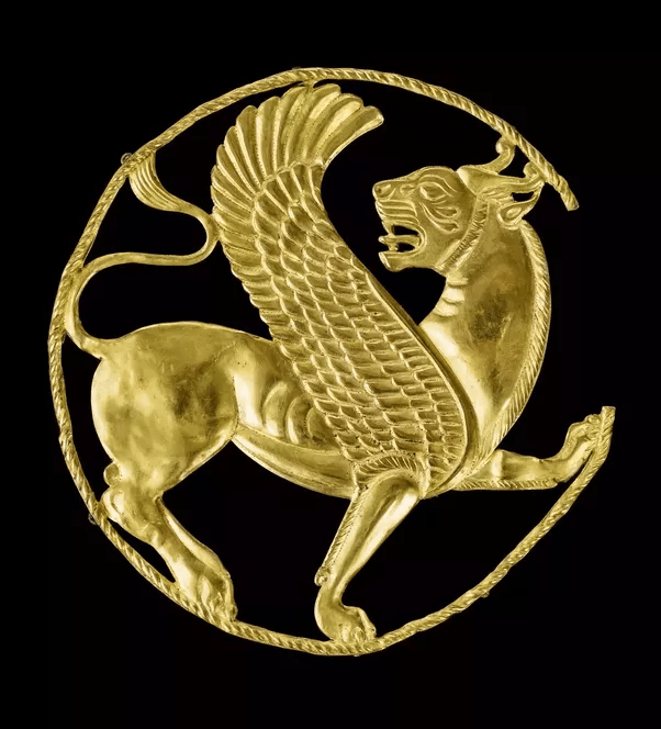 What Is The Significance Of The Winged Lion As A Motif In