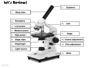 What is the microscope used for?  Quora
