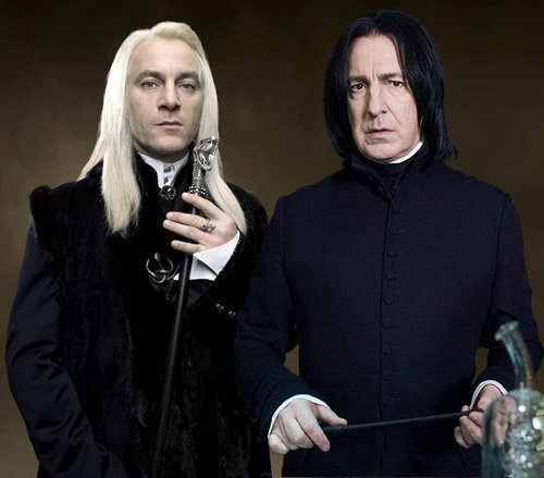 And Malfoy Snape Harry Lucius Potter