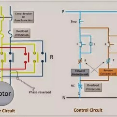 Wiring Diagram Of Magnetic Contactor Yamaha Wave Blaster What Is A Forward Reversing Motor Control Circuit Quora In The Both Reverse Interlocked Way That Only One Should Be Closed Condition While Other Open
