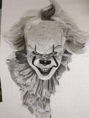 realistic draw sketch pencil completed adding edit