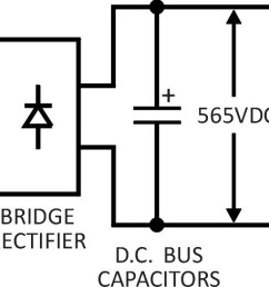 a block diagram is shown in figure 3 rectification is done with a 3 phase diode bridge rectifier and inversion uses 6 electronic switches usually igbts  [ 1818 x 488 Pixel ]