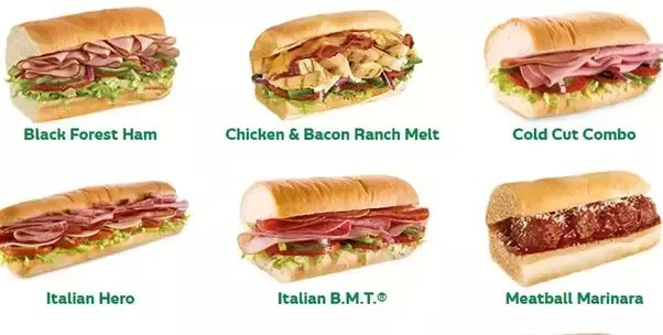 if subway s sandwiches