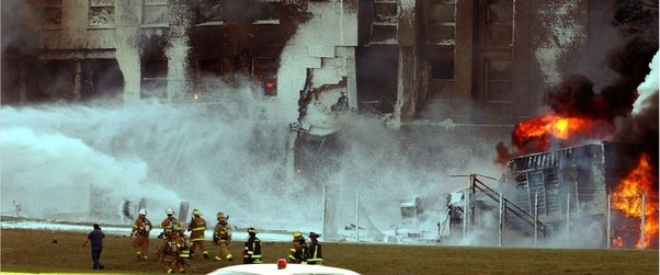 How wide was the gap left in the Pentagon after the 9/11 attacks? - Quora