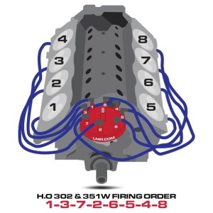 What is the firing order for a Ford 302 engine?  Quora