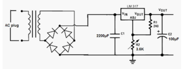 What is the purpose of resistors and capacitors within an