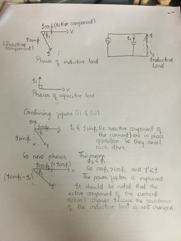 Reactive Power Equation : reactive, power, equation, Calculate, Required, Reactive, Power, Supplied, Motor, Factor, (total, Lagging), Quora