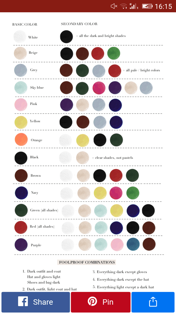 How to decide which colors would look good together in