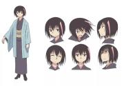 female anime character