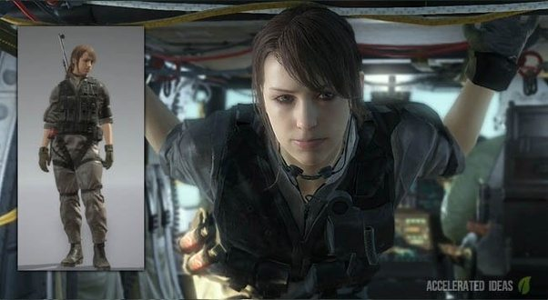 Is Quiet From Metal Gear Solid V A Well Developed